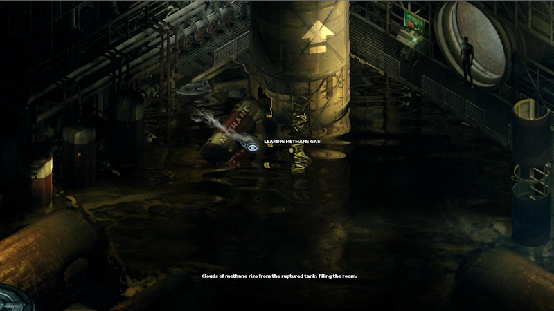 Much of the gameplay is about finding ways to enter new areas.
